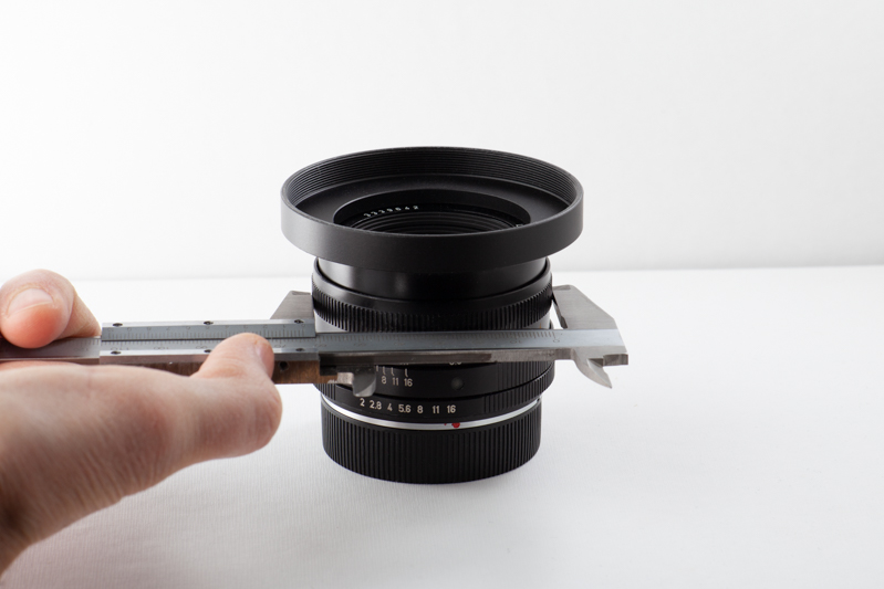 Lens mod measure cine mod
